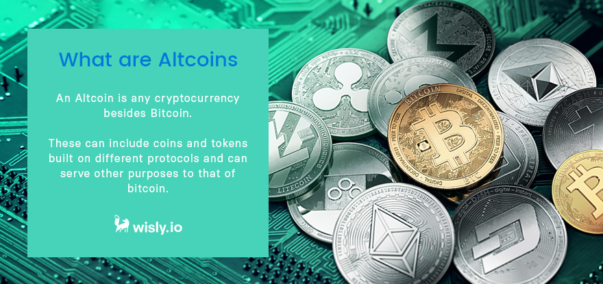 What are Altcoins - Crypto Wallet