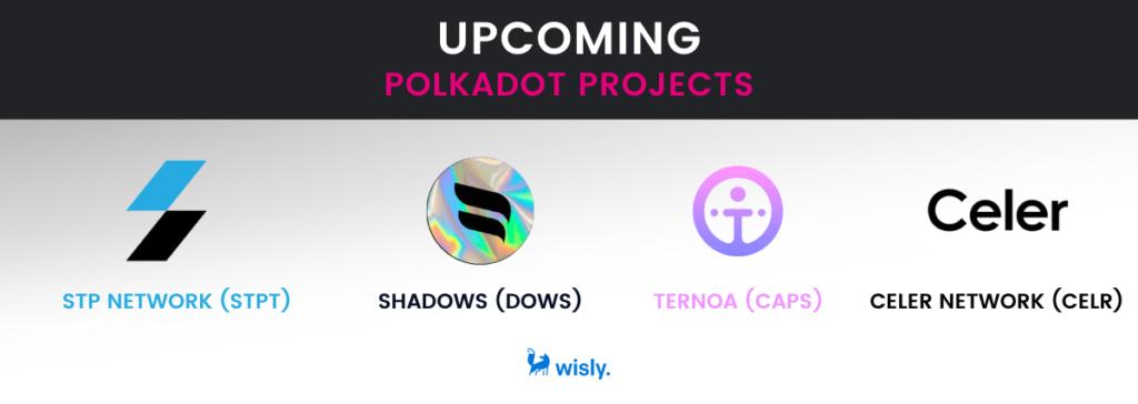 polkadot projects